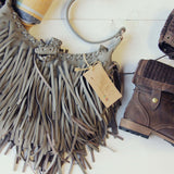 Canyon Fringe Tote in Gray: Alternate View #2