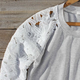 Canyon Lace Sweatshirt: Alternate View #2