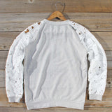 Canyon Lace Sweatshirt: Alternate View #4