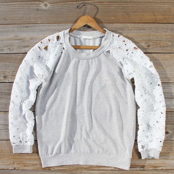 Canyon Lace Sweatshirt: Featured Product Image