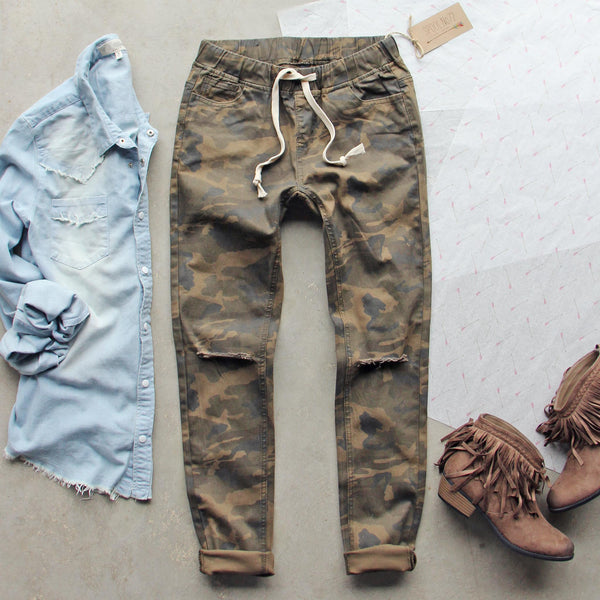 Canyon Sugar Camo Pants: Featured Product Image