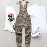 Canyon Sugar Camo Overalls: Alternate View #2