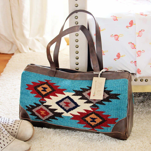 Canyonland Rug Bag in Turquoise: Featured Product Image