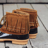 The Caribou Fringe Boot: Alternate View #3