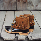 The Caribou Fringe Boot: Alternate View #4