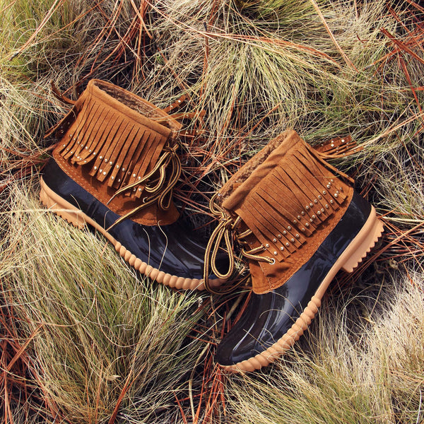 The Caribou Fringe Boot: Featured Product Image