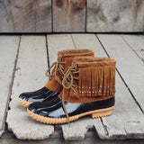 The Caribou Fringe Boot: Alternate View #2