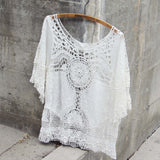 Casa Blanca Lace Top: Alternate View #3