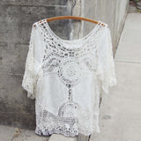 Casa Blanca Lace Top: Alternate View #1