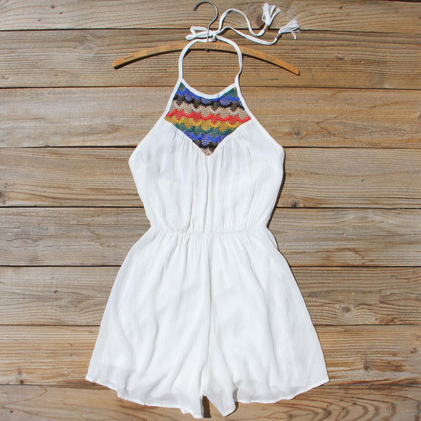 Casa Blanca Romper: Featured Product Image