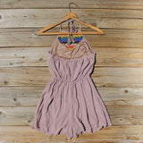 Casa Blanca Romper in Taupe: Alternate View #4