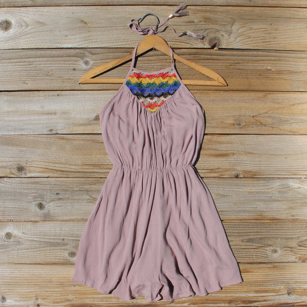 Casa Blanca Romper in Taupe: Featured Product Image