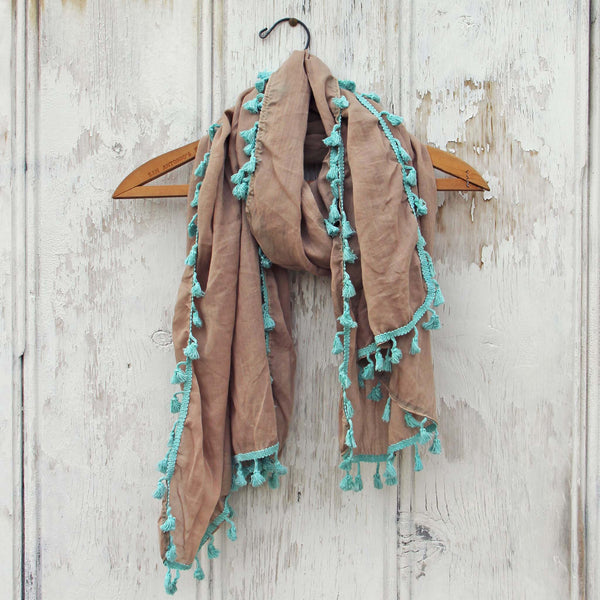 Moroccan Sunset Scarf in Sand: Featured Product Image