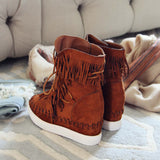 Cedar Fringe Booties: Alternate View #3
