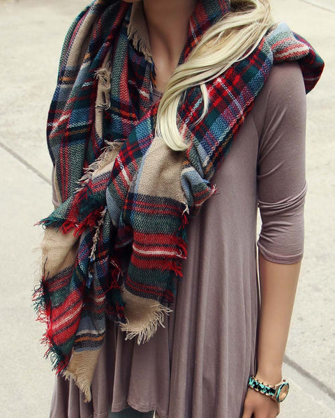 Cedar Moss Scarf: Featured Product Image