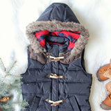 Chalet Cozy Vest in Navy: Alternate View #2