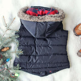 Chalet Cozy Vest in Navy: Alternate View #4