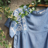 Chambray Boheme Top (wholesale): Alternate View #2