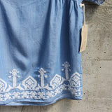 Chambray Boheme Top (wholesale): Alternate View #3