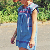 Chambray Clouds Dress: Alternate View #1