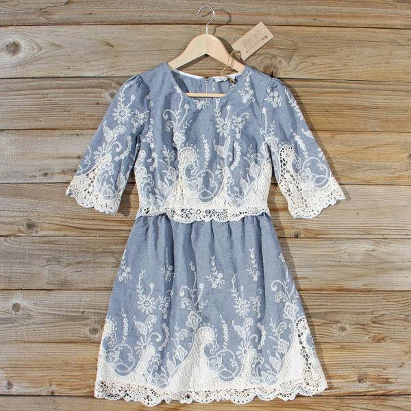 Cumulus Chambray Dress: Featured Product Image