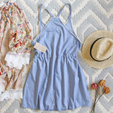 Chambray Shadows Dress: Alternate View #4