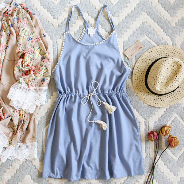 Chambray Shadows Dress: Featured Product Image