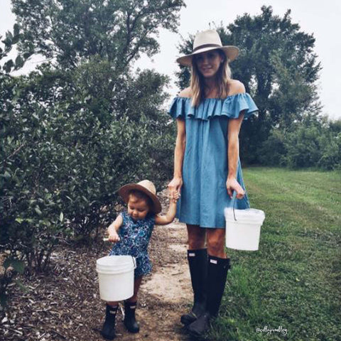 Chambray Sweet Dress
