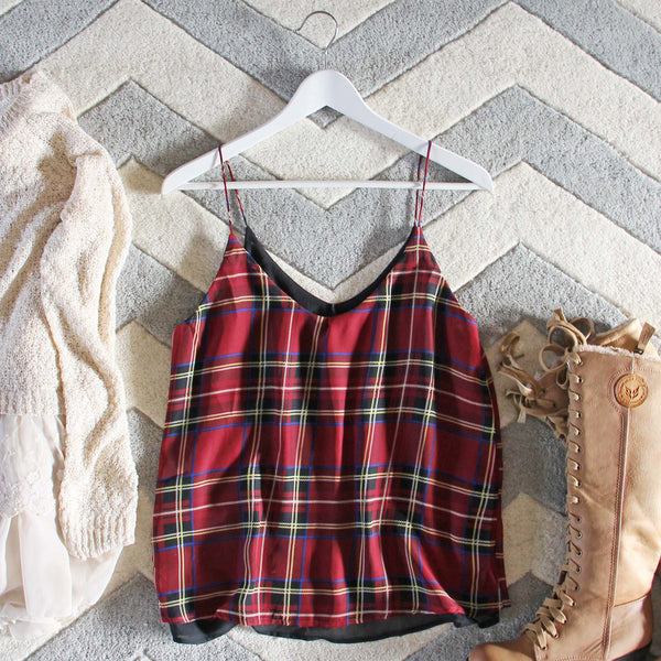 The Ski Lodge Plaid Top: Featured Product Image