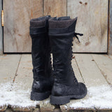 The Chehalis Boots in Black: Alternate View #3
