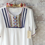 Chelan Embroidered Tunic (wholesale): Alternate View #3