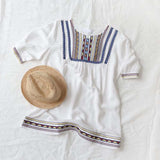 Chelan Embroidered Tunic (wholesale): Alternate View #1