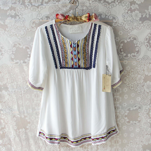 Chelan Embroidered Tunic: Featured Product Image