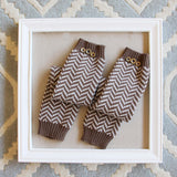 Chevron Knit Boot Socks: Alternate View #1