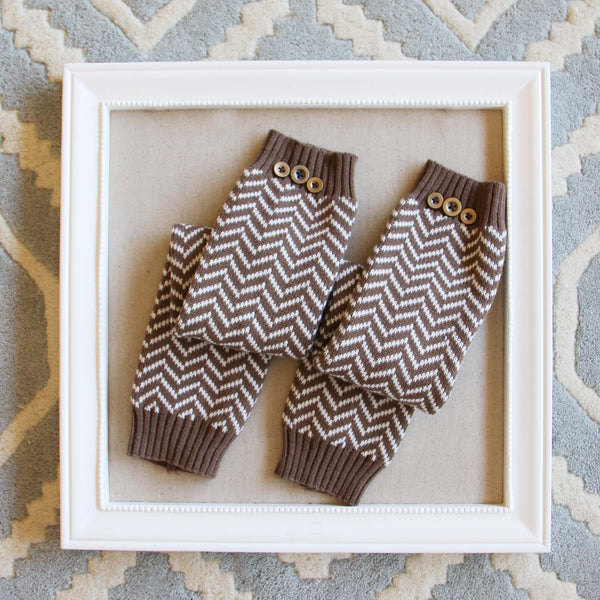 Chevron Knit Boot Socks: Featured Product Image