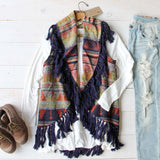 Cheyenne Cozy Vest: Alternate View #1