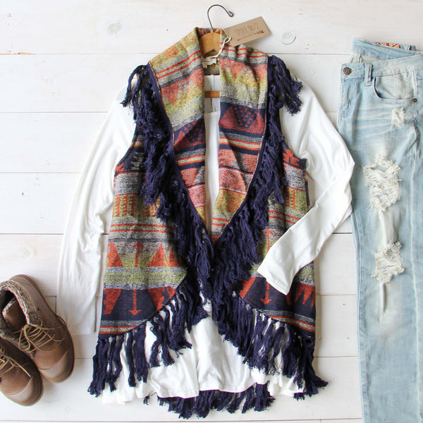 Cheyenne Cozy Vest: Featured Product Image