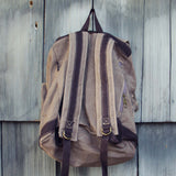 Cheyenne Rugged Backpack in Brown: Alternate View #3