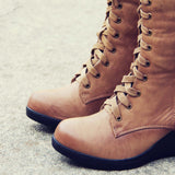 The Chinook Boots in Khaki: Alternate View #2