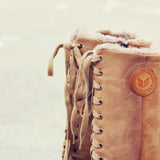 The Chinook Boots in Khaki: Alternate View #3