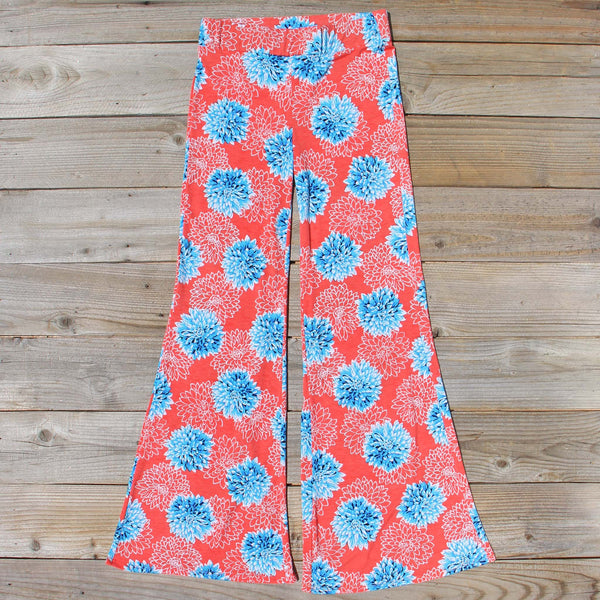 Chrysanthemum Palazzo Pants: Featured Product Image