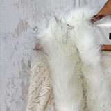 Chumstick Faux Fur Vest in Snow: Alternate View #2