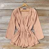Cider Mill Ruffle Romper: Alternate View #1