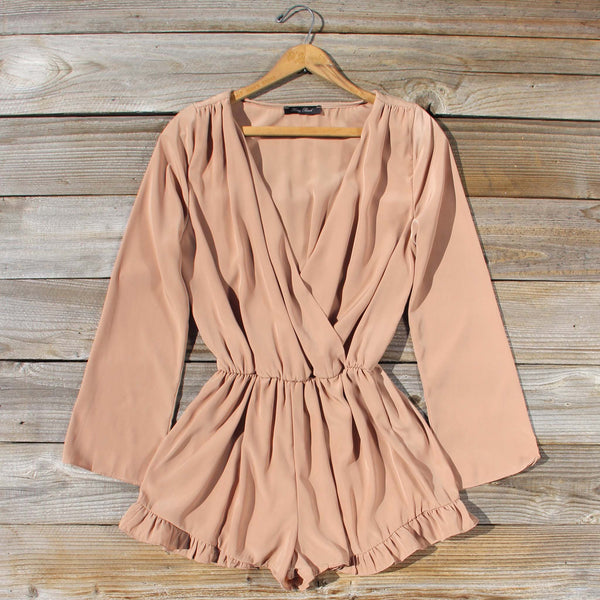 Cider Mill Ruffle Romper: Featured Product Image