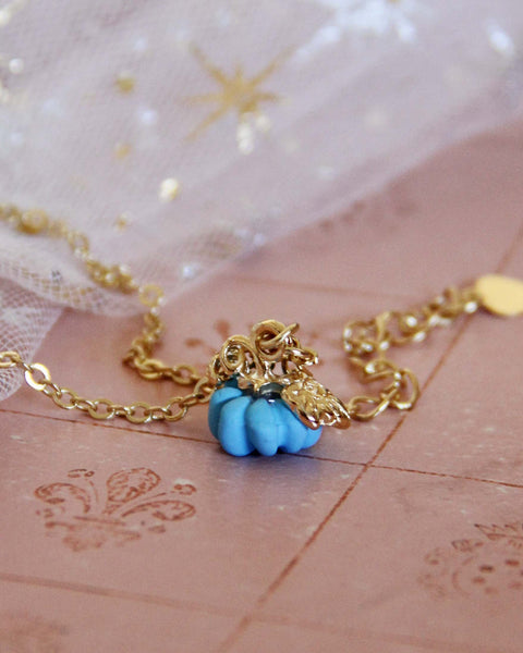 Cinderella Necklace in Blue: Featured Product Image