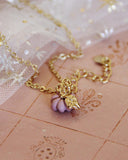 Cinderella Necklace in Pink: Alternate View #2