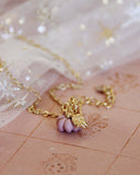 Cinderella Necklace in Pink: Alternate View #3