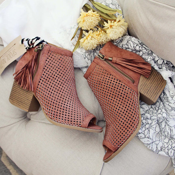 Cinnamon Hills Booties: Featured Product Image