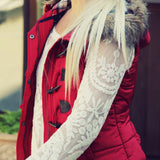Cle Elum Vest in Red: Alternate View #2