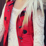 Cle Elum Vest in Red: Alternate View #3